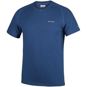 Columbia M's Mountain Tech III SS Crew Shirt super blue